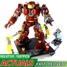 Iron Man Hulkbuster Lepining Movie 76105 Marvel Action Figure Avengers Superhero Model Kit Building Blocks Bricks Kids Toys Gift single sale 41 cm iron man series movie thanos resin action figure kids adults collectible toys garage kit toy movie character