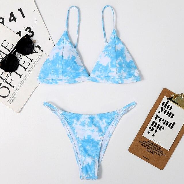 Mini Thong Bikinis Set