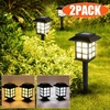 2PCS LED Retro Solar Garden Lights Outdoor Landscape Lighting Solar Powered Path Lights Patio Yard Pathway Driveway Lawn Lamps review
