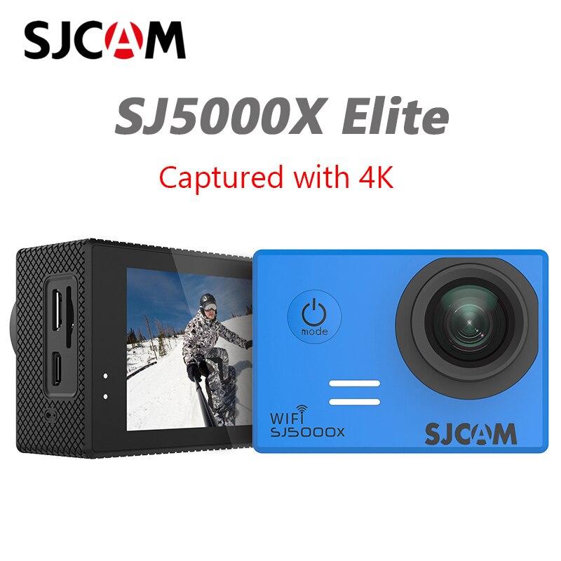 SJCAM SJ5000X caméra d'action Sport Elite Gyro WiFi 4K 24fps HD plongée 30M étanche NTK96660 SJ CAM Sports DV