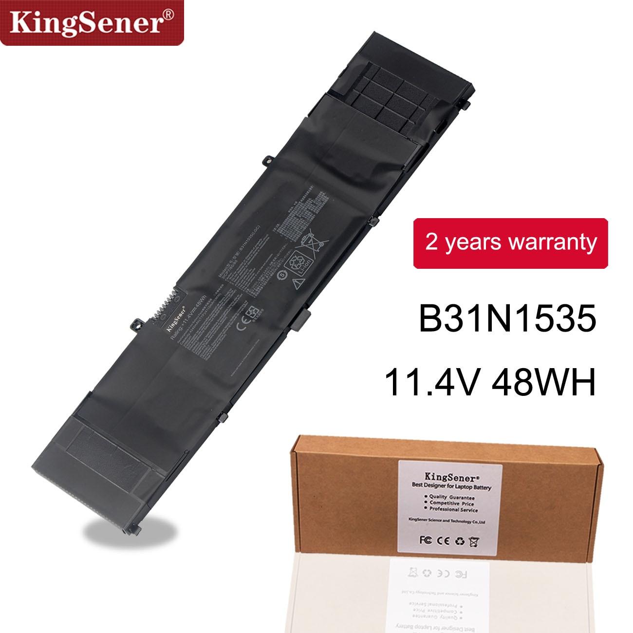 Kingsener B31N1535 Laptop Battery For ASUS ZenBook UX310 UX310UA UX310UQ UX410 UX410UA UX410UQ U4000U U400UQ RX310U 11.4V 48WH