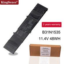 цена на Kingsener B31N1535 Laptop Battery For ASUS ZenBook UX310 UX310UA UX310UQ UX410 UX410UA UX410UQ U4000U U400UQ RX310U 11.4V 48WH