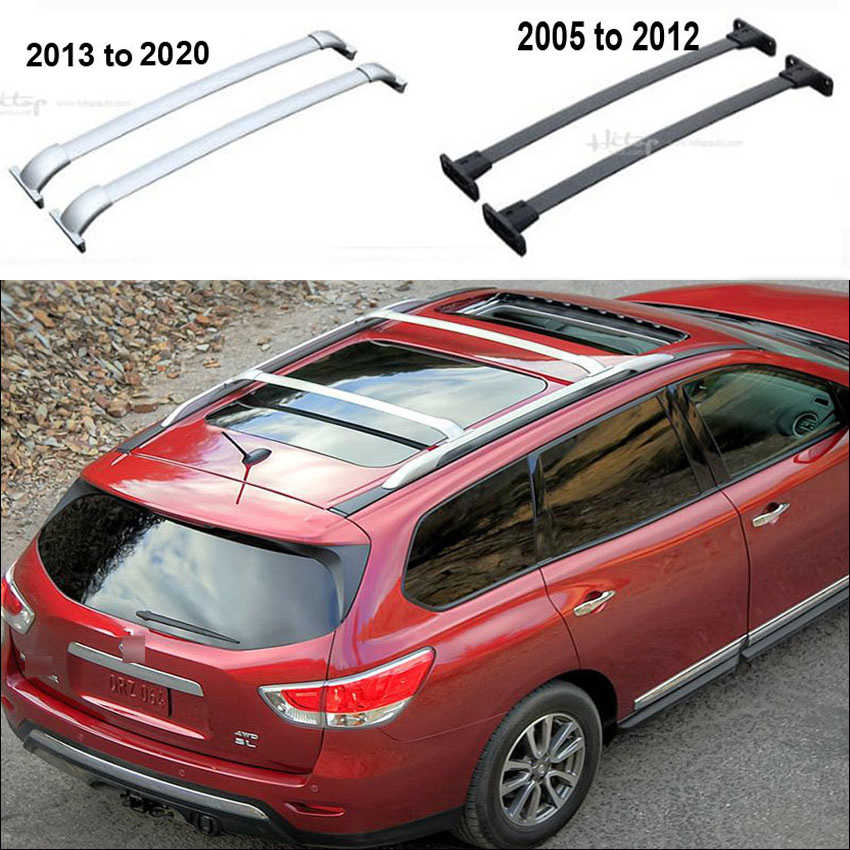 Horizontal Roof Rack Luggage Rack Cross Bar For Nissan Pathfinder Oem Model Thick Aluminum Alloy Low Profit Asia Free Shipping Alloy Model Beam Baralloy Cross Aliexpress