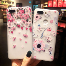 Flower Silicone IPhone 7 Case For IPhone XS MAX XR X Mobile Phone Case