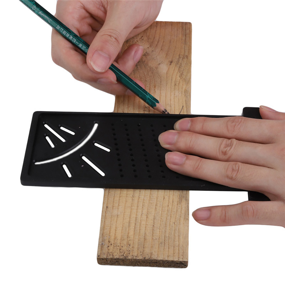 1pc T-type Woodworking Scriber Ruler Scribing Mark Line Gauge Carpenter Tool
