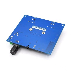 Image 5 - Bluetooth 5.0 100W+100W TPA3116 Digital Audio Power Amp HiFi Sound Dual Channel Class D Stereo Aux TF Card Amplifier Board