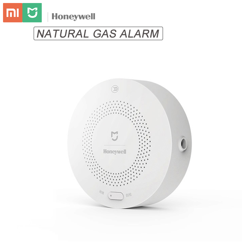 Original Mijia Honeywell Natural Gas Detector Natural Gas Alarm System Aqara Zigbee CH4 Monitor Security System For Mi Home