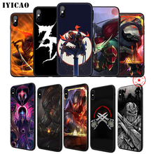 IYICAO Lol Yasuo Zed Soft Phone Case for iPhone 11 Pro XR X XS Max 6 6S 7 8 Plus 5 5S SE Silicone TPU