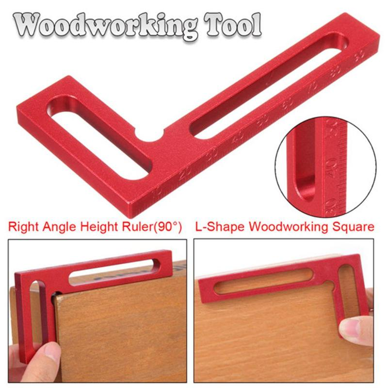 Woodworking Angle Ruler L-shape…