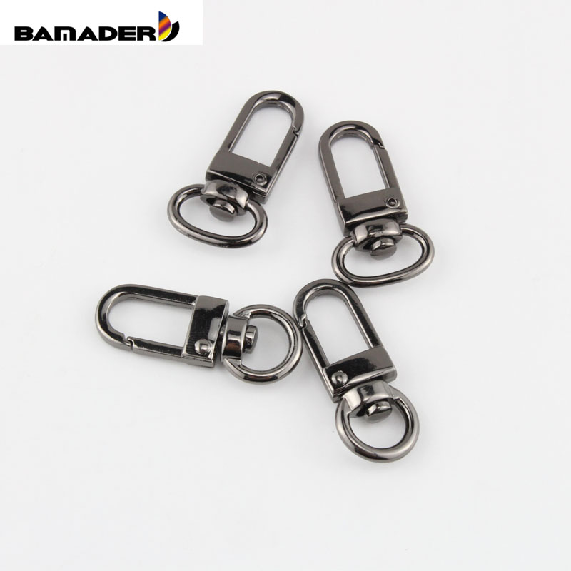 Pair BAMADER High Quality Hardware Accessories Small Bag Replacement Hook Metal Clip  Bag Buckle Rotating Buckle Parts Snap Hook