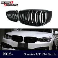 3 serie gran turismo F34 dual lamellen front niere grill grille netz für bmw 3 serie 2012 +