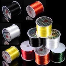 40m/rulo boncuk streç kordon elastik kordonlar streç boncuk tel/kablo/dize/iplik DIY bilezikler takı yapımı malzemeleri