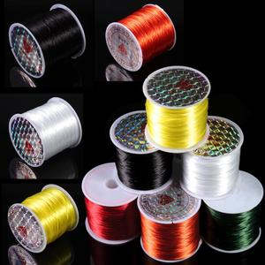40m/Roll Beading Stretch Cord Elastic Cords Stretch Beading Wire/Cord/String/Thread for DIY Bracelets Jewelry Making Materials
