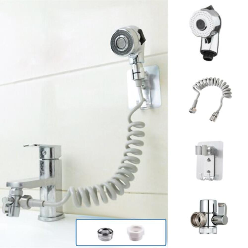 Bathroom Faucet 18mm-22mm Bath Shower Faucet Hand-held Telescopic Small Nozzle Faucet Aerator With Adapter Bathroom Tool