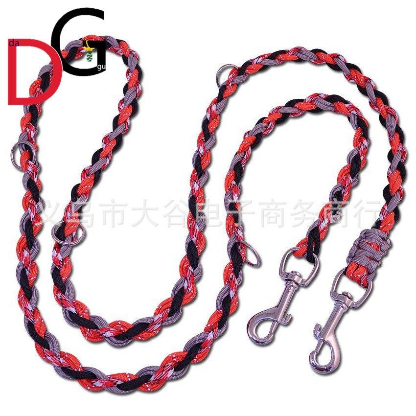 8-Strand Umbrella Rope Weaving Pet Traction Rope Outdoor Dog Pendant Medium Large Dog Dog Traction Belt