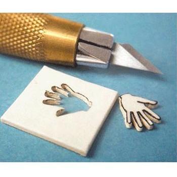 Wykonane w japonii narzędzie precyzyjne OLFA ART najlepsze do szablonów AK-3 PLUS 30 części zamiennych OLFA AK-3 tanie i dobre opinie steel towasuisei