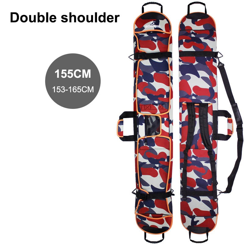 Protective-Cover Hand-Carrier Carry-Bags Ski-Bag Snowboarding with Single/double-Shoulder-Strap