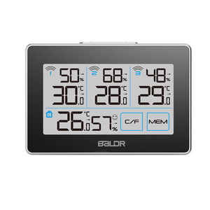 Image 3 - Baldr CD Thermometer Temperature Meter Weather Station tester + 3 Wireless Outdoor Transmitter Humidity Sensor Monitor