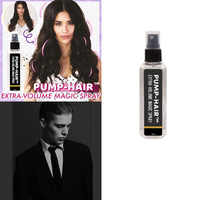 PUMP-HAIR-Spray mágico para el cabello, volumen Extra, Spray para estilismo del cabello, Gel de peinado fuerte que contiene fibras densas para el cabello