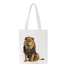 Wielokrotnego użytku torby na zakupy Eco składane płótno torebki torby plażowe tote duże rozmiary torby podróżne torby do przechowywania wielokrotnego użytku torby casual tanie tanio SCCFMM Cotton WOMEN Nie zamek A Series Na co dzień 35*40cm