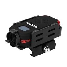 반딧불 q6 airsoft 카메라 2.5 k hd 액션 카메라 oled 스크린 airsoft 게임을위한 120 ° 와이드 앵글 액션 스포츠 카메라