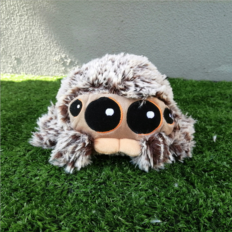 Hot 20CM LUCAS The Spider Edition Soft Plush Toy Doll For Kids Birthday New Year Gifts