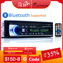 AMPrime Bluetooth Autoradio Stereo Xe Hơi FM Aux Đầu Vào Đầu Thu SD USB JSD 520 12V Vân 1 Din xe MP3 Đa Phương Tiện