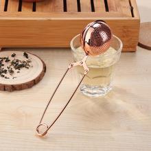 Gold Stainless Steel Tea Infuser Sphere Mesh Tea Strainer Herb Spice Filter Diffuser for Tea Pot Mug Teaware Tea Accessories