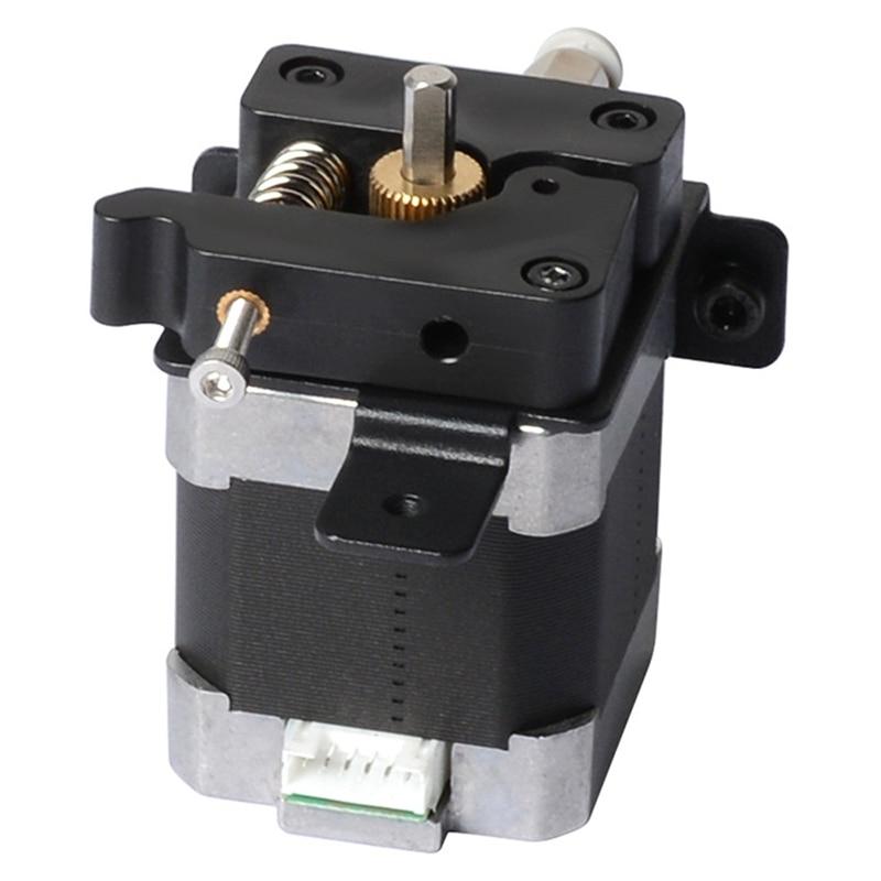 3d impressora mk8 extrusora alimentador dc 1 68a duplo v 1 75mm 1 8 graus angulo