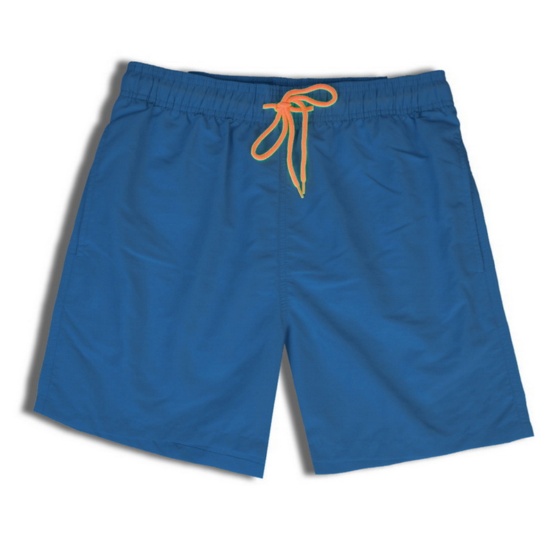2020 New Solid Color Loose Elastic Sports Shorts Men's Fashion Summer Casual Shorts Quick-drying Breathable Waterproof Trunks