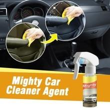 100 мл многофункциональный очиститель салона автомобиля для пятен кожи могучий очиститель стекла Анти-туман агент Спрей очиститель окна автомобиля