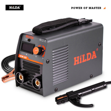 HILDA Arc Welders Welding Equipment Portable Welding Machine Efficient Inverter ARC Welder 220V AC for Home Beginner