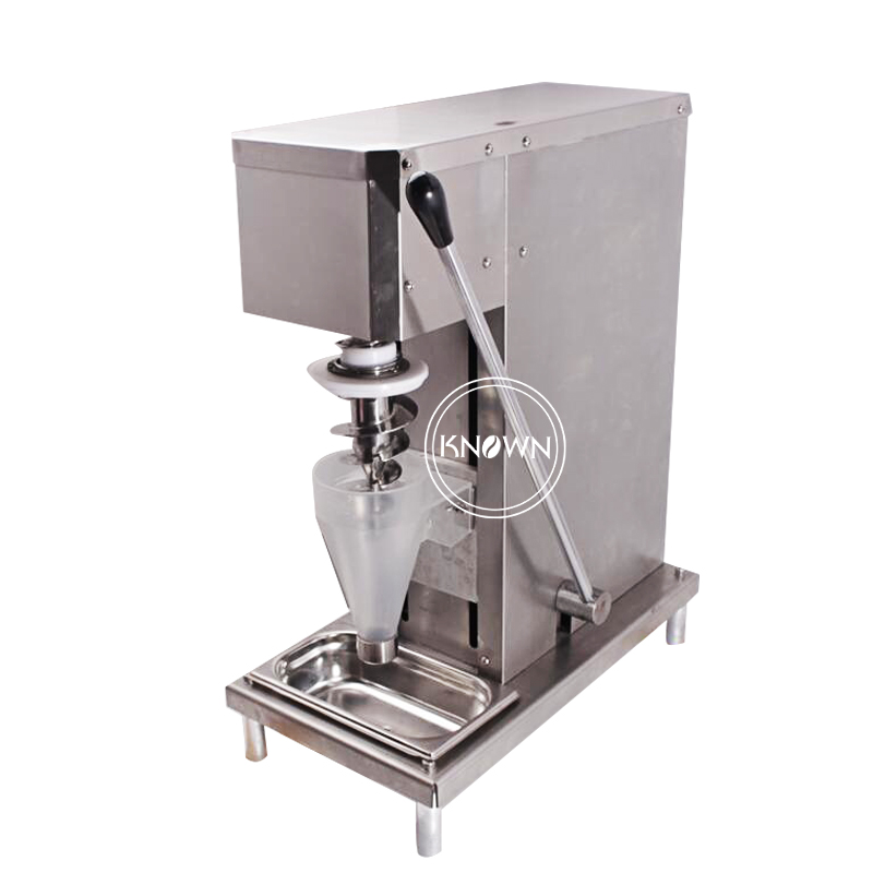 2019 Hot Sale Ice Cream Machine Multifunctional Frozen Yogurt Blender Stainless Soft Ice Cream Shaker Mixer