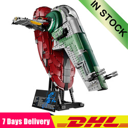 IN Stock 2067pcs Star War UCS Slave I Slave NO.1 Model Building Block Bricks Toys Kits Gifts Compatible 05037 75060