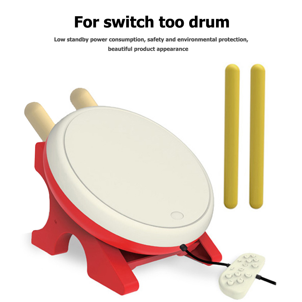 Gaming Drum For NS Joy-Con video game Taiko Drum For Nintendo Switch Taiko no Tatsujin Video Game Accessories