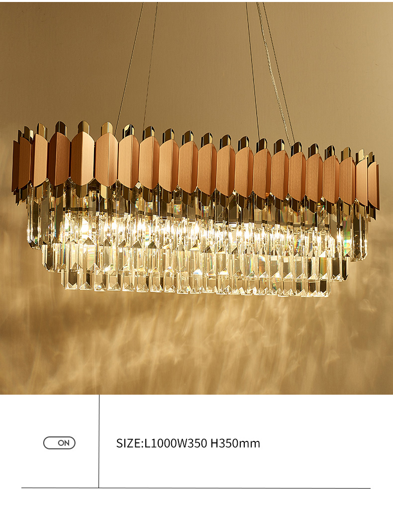 Modern Crystal Rose Pink Chandelier For Dining Room, Bedroom and Living Room Best Children's Lighting & Home Decor Online Store