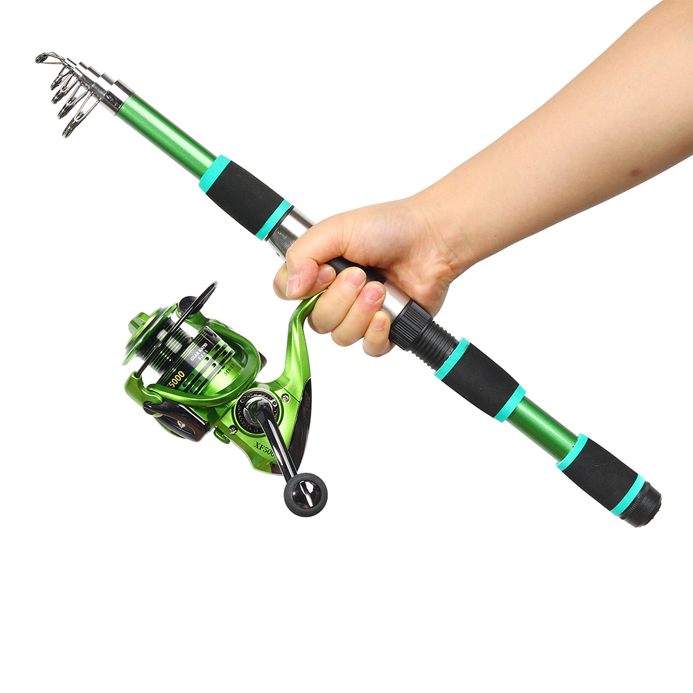 JOSBY Telescopic Fishing Rod Feeder Hard FRP Carbon Fiber Portable Carp Spinning Pole Travel Sea Boat Pesca