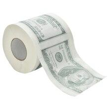 Toilet-Paper Tissue Dollars 100-Tp One-Hundred Gag Money-Roll Gift Bill-Printed Funny