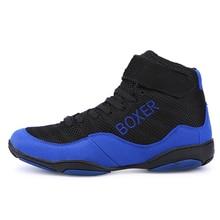 Новинка, мужская и женская боксерская обувь, легкие мужские спортивные кроссовки для борьбы, резиновая подошва, для пар, тренировочная обувь
