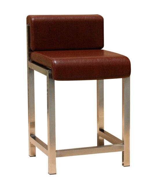 Reception Desk, Jewelry Store, Special Bar Stool, Modern Minimalist Backrest, High Stool, Counter, Cashier, Chair