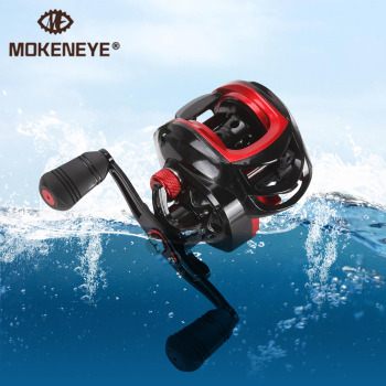 8KG Max Drag Fishing Reel 7.2:1 Bait Casting Reel Line Spool Saltwater Aluminium Freshwater Area 18 Bearings Fishing Accessories