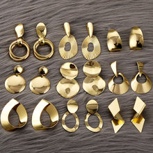 IPARAM del Metallo Dell'annata Geometrica Orecchini A Pendaglio Dichiarazione di Moda Geometrica Della Lega Ciondola L'orecchino 2020 Gioelleria Raffinata E Alla Moda