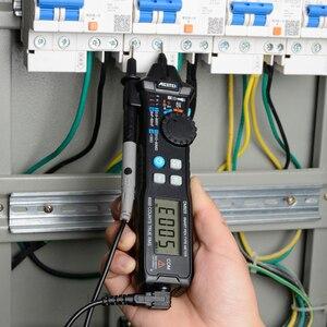 Image 4 - MESTEK cyfrowy multimetr 6000 zlicza kieszeń w stylu pióra Auto zakres/inteligentny multimetr wykrywanie NCV multimetr napięcia DC/AC