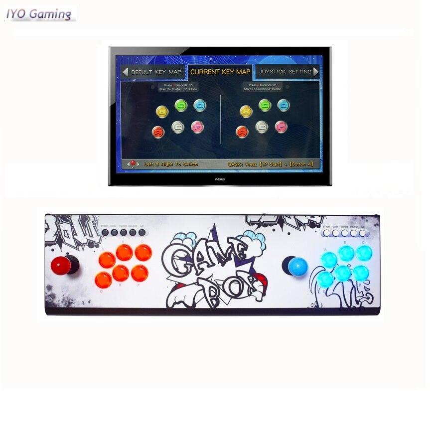 Аркадная консоль Pandora Box 9D, аркадная консоль 3001, печатная плата, 2 игрока, контроллер, поддержка беспроводного геймпада 3P, 4P, ретро, игровой авт...
