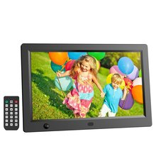 10.1 inch HD LCD Digital Photo Frame & Commercial Advertising Machine Human Sensor Video Player with Remote Control new and original bup 50 hd autonics photo sensor 18 35vdc