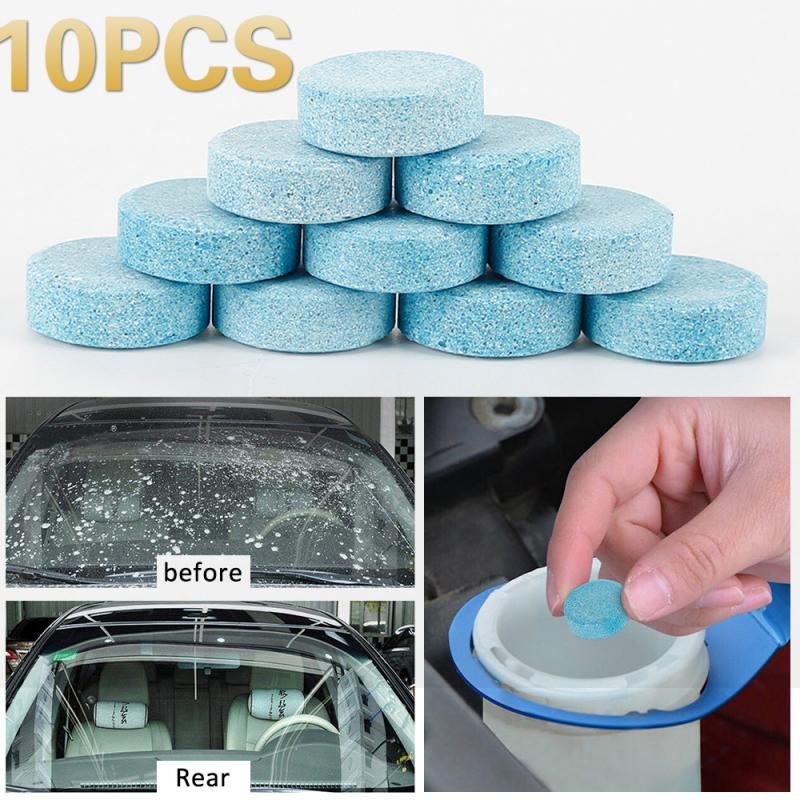 Car Glass Cleaner Concentrated Car Windshield Window Cleaning Tool Concentrated  1 Capsule Can Dissolve 2 Liters Cleaning TSLM1