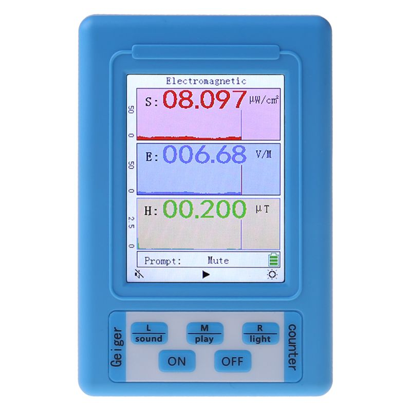 Детектор электромагнитного излучения, измеритель ЭМС, дозиметр радиации, монитор, тестер BR-9A