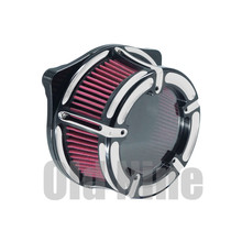цена на Motorcycle Air Cleaner Intake Air Filter For Harley XL Sportster 91-17 Dyna 2000-2017 Touring Road Glide 08-16 Touring 17-18