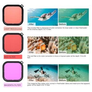 Image 5 - Vamson per Go Pro Kit di Accessori Custodia Impermeabile per GoPro Eroe 8 Nero Camera Tripod Mount per GoPro 8 nero VS20