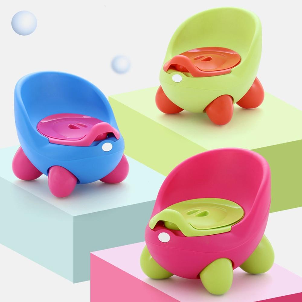 Baby Potty Toilet Seat Bowl Training Pan Children's Pot Portable Kids Bedpan Comfortable Backrest Toilet Girls Boys Cartoon Pots